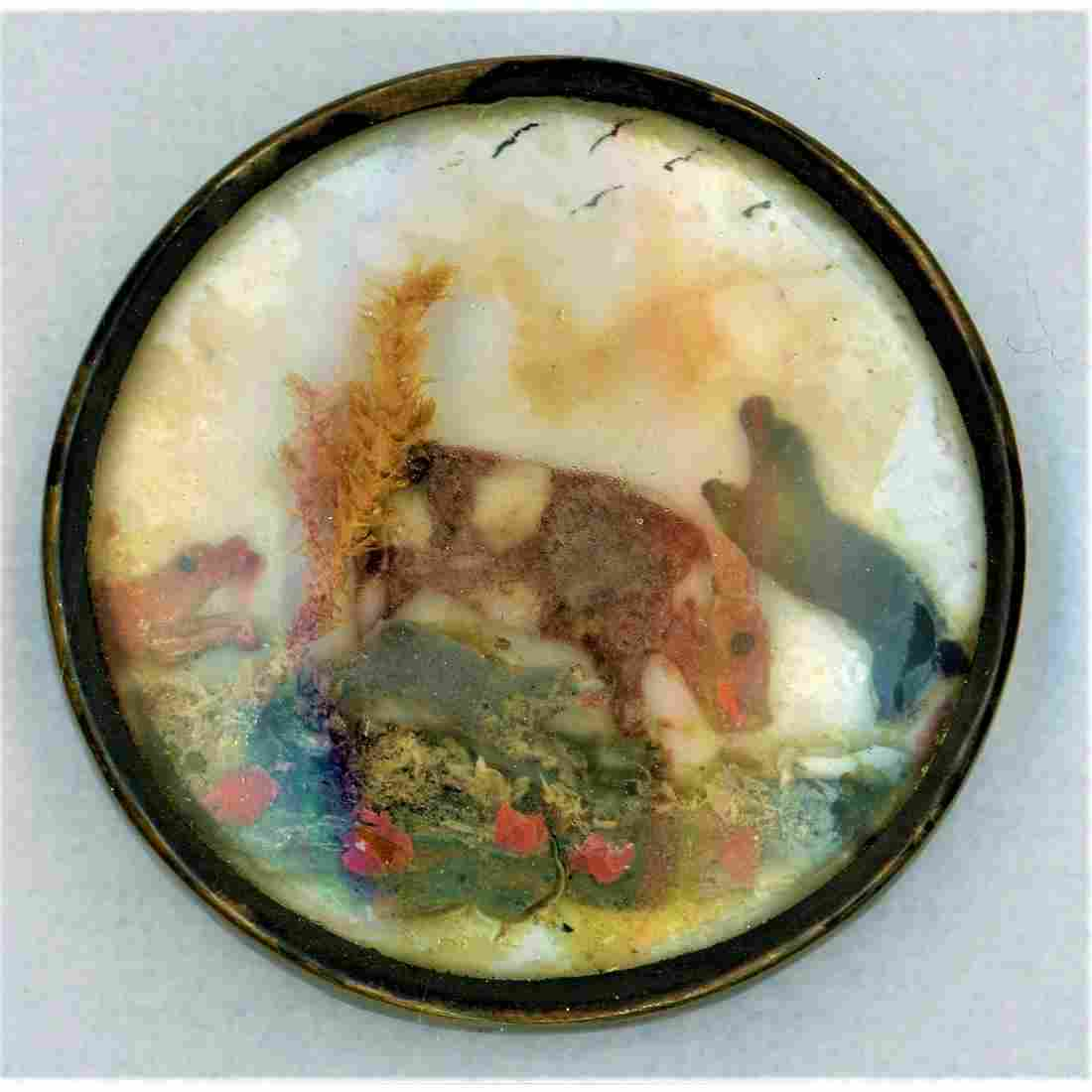 Oh My Another Wow Button. An 18Th Century Animal