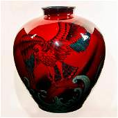 Royal Doulton Sung Flambe Exhibition Vase American