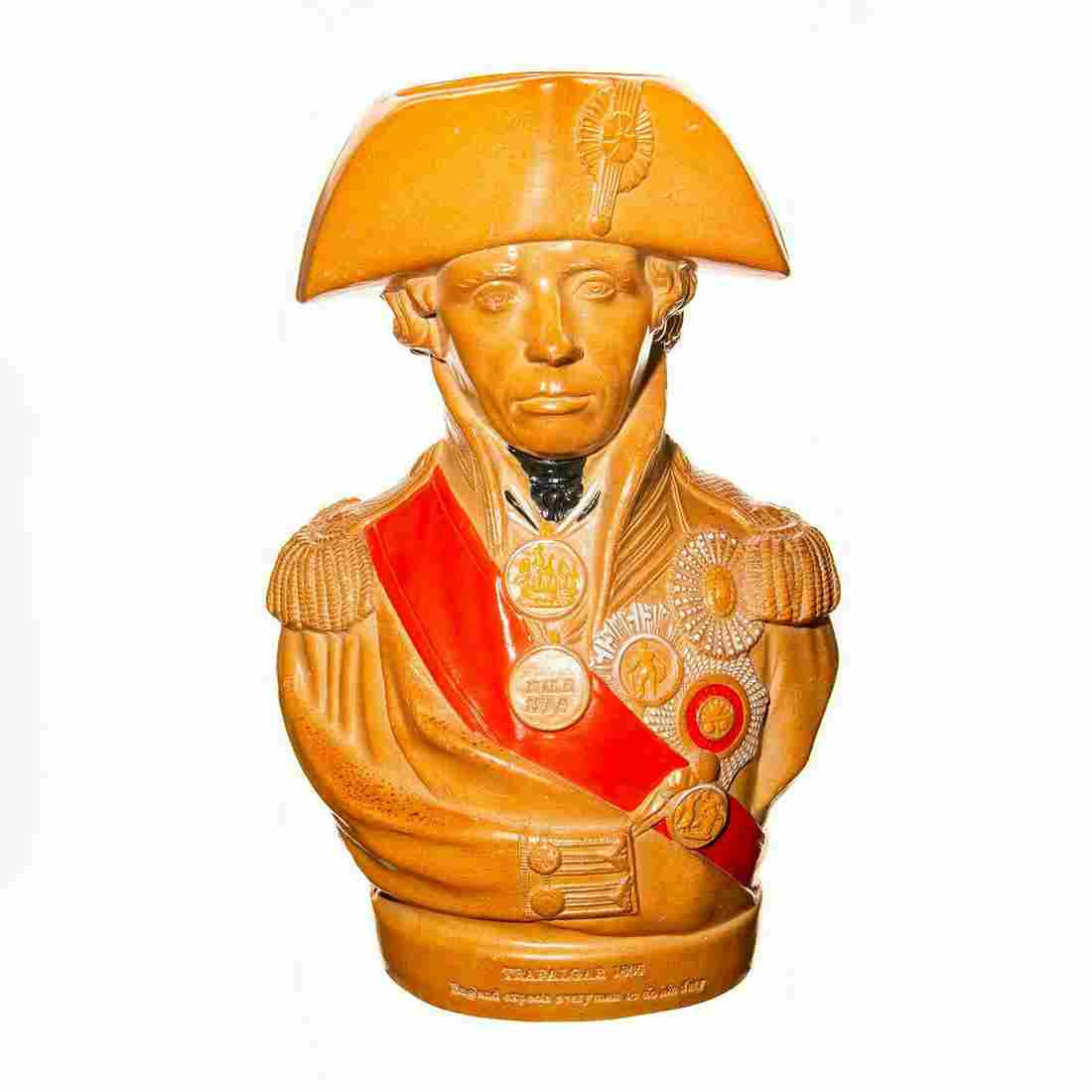Doulton Lambeth Vice Admiral Lord Nelson Character Toby