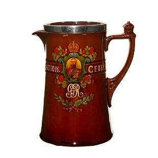 Royal Doulton King George V Water Whiskey Pitcher