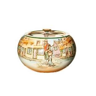 Royal Doulton Charles Dickens Series Tobacco Jar.