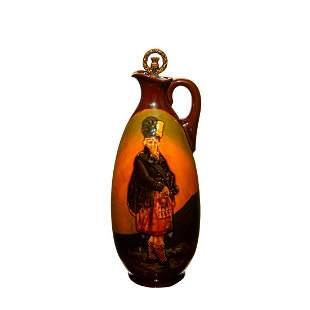 Royal Doulton Kingsware Whiskey Bottle of The Macnab