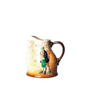 Royal Doulton Dickens Pitcher, Bill Sykes