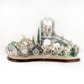 Cinderella's Arrival 01001785 LTD - Lladro Porcelain