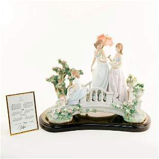 BRIDGE OF DREAMS 01001879 LTD - Lladro Porcelain Figure