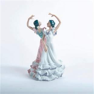 Ole' Flamenco Couple 01005601 - Lladro Porcelain Figure