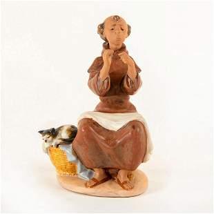 Prayerful Stitch 1990/1994 01012205 - Lladro Porcelain