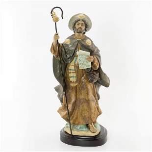 Saint James the Apostle 01013563 - Lladro Porcelain