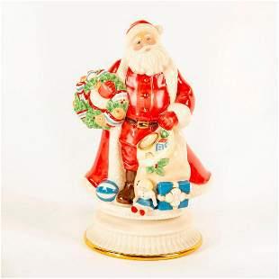 Lenox Musical Figurine, Santa Claus Around The World
