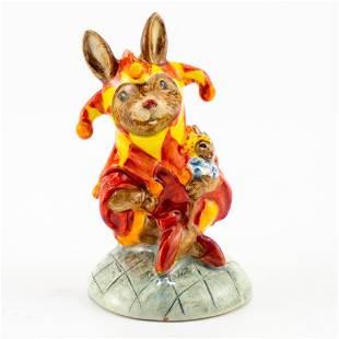 Royal Doulton Prototype Bunnykins Figure, Jester