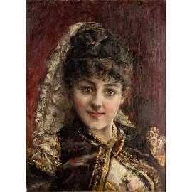 Giovanni Boldini (Italian, 1842-1931) Portrait Painting