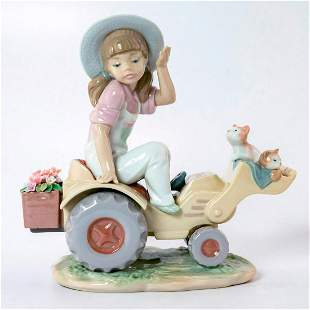 Want A Lift? 1006564 - Lladro Porcelain Figure