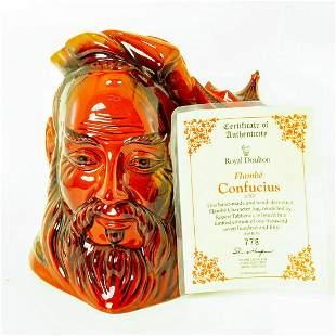 Confucius D7003 Flambe Large - Royal Doulton Character