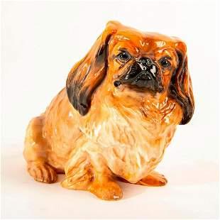 Large Royal Doulton Dog Figure, Seated Pekinese