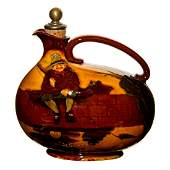 Royal Doulton Whiskey Bottle Hooked Fisherman