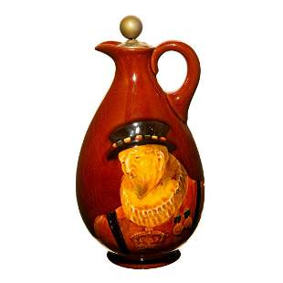 Royal Doulton Beefeater Dewar's Scotch Whisky Bottle