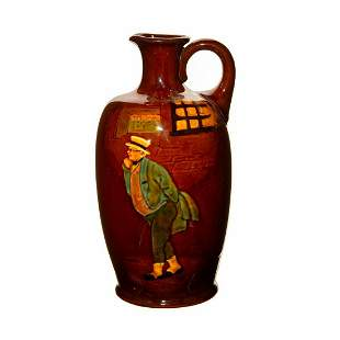 Royal Doulton Kingsware Whiskey Bottle Mr. Pickwick