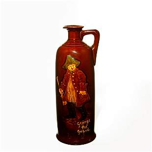 Royal Doulton Whiskey Bottle George the Guard in