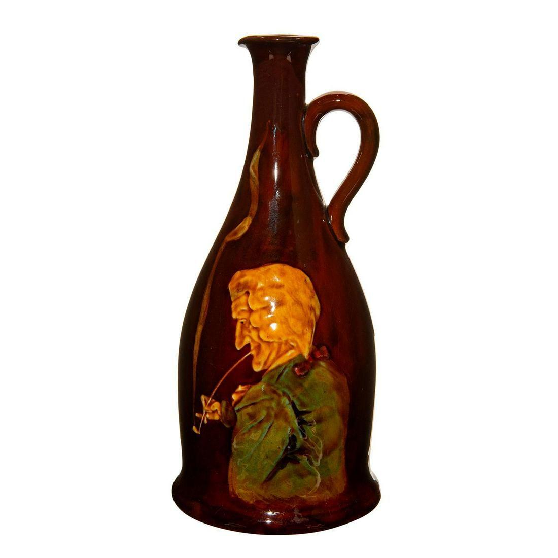 Royal Doulton Kingsware Bottle Man Smoking