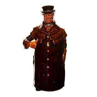 Royal Doulton Kingsware Whiskey Bottle the Coachman