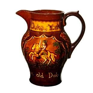 Royal Doulton Kingsware Jug, Duke Of York