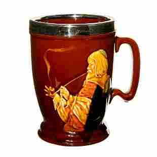 Royal Doulton Kingsware Whiskey Stein, Drink Wisely
