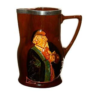 Royal Doulton Whiskey Water Pitcher of John Barleycorn