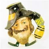 Guy Fawkes D6861 - Large - Royal Doulton Character Jug