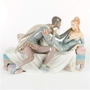 Othello and Desdemona 01001145 LTD - Lladro Porcelain
