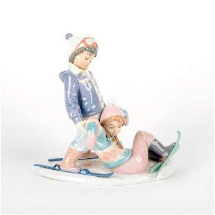 One More Try 1005997 - Lladro Porcelain Figurine