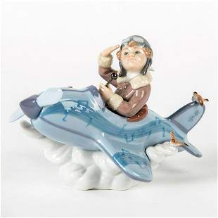 Over The Clouds 1005697 - Lladro Porcelain Figurine
