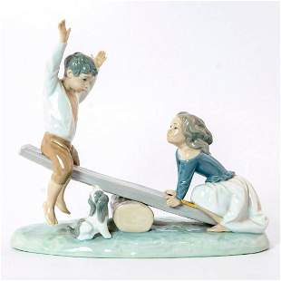 See-Saw 1014867 - Lladro Porcelain Figurine