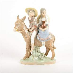 Ride In The Country 01005354 - Lladro Porcelain Figure