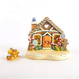 Goebel Hummel Holiday Decoration, Gingerbread Lane