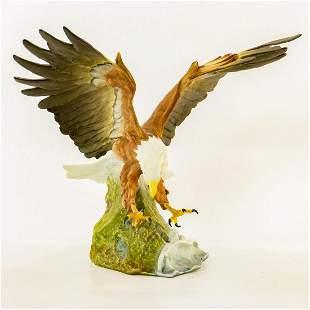 Kaiser Porcelain Bird Sculpture, American Bald Eagle
