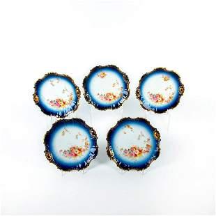 5 J C Limoges French Porcelain Plates