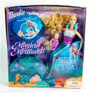 Mattel Barbie And Krissy Dolls, Magical Mermaids