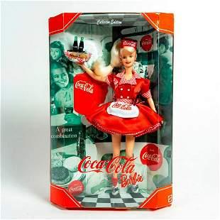 Mattel Barbie Doll Collector Edition, Coca-Cola Car