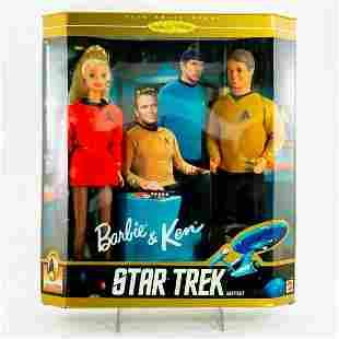 Mattel, Barbie and Ken Star Trek Gift Set