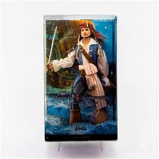 Captain Jack Sparrow Doll, Pirates of the Caribbean