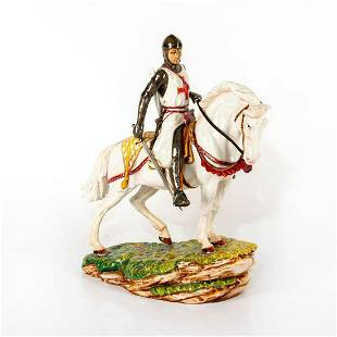 Large Royal Doulton Figurine, St. George HN4371