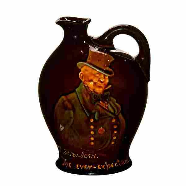 Royal Doulton 'Micawber' Whiskey Jug Kingsware Glaze