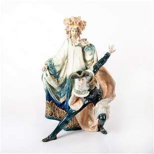 Lladro Porcelain Figurine Venetian Carnival 01001816