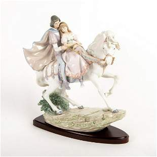 Love Story 01005991 - Lladro Porcelain Figurine with