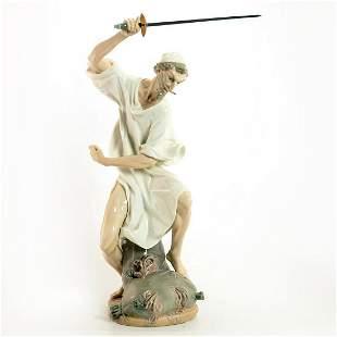 Wrath of Don Quixote 1001343 - Lladro Porcelain Figure