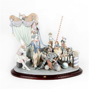 Circus Time 1001758 LTD - Lladro Porcelain Figure with