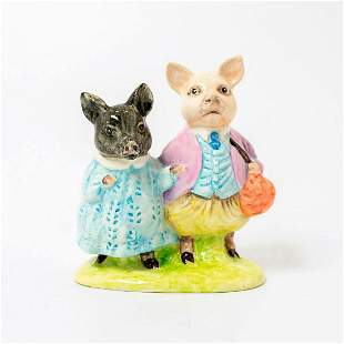 Royal Doulton Prototype Figurine, Pig Wig and Pigling