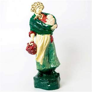 Rare Royal Doulton Figurine, Young Mother with Child