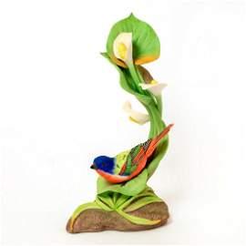 Boehm Bird Figurine, Painted Bunting 400-38
