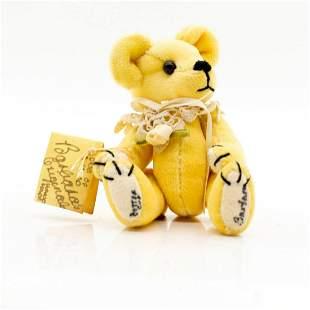 Barbara's Original, Buttercup Miniature Teddy Bear